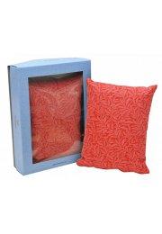 Bylinný vankúšik, červený 20 x 15 cm