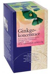 Ginkgo - koncentrácia, porciovaný čaj 20g