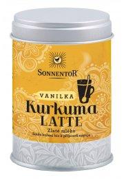 Kurkuma Latte - vanilka BIO, malá dóza 60 g