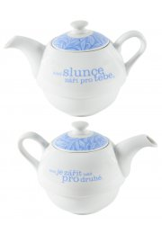 Porcelánová kanvica - Tea for One 0.5 l