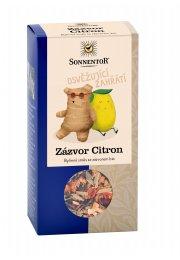 Zázvor-citrón, sypaný čaj 80 g