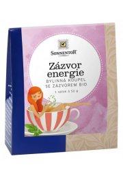 Zázvor energia, bylinná soľ do kúpeľa 50 g