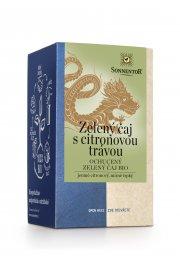 Zelený čaj - citronová tráva, porciovaný 21,6 g