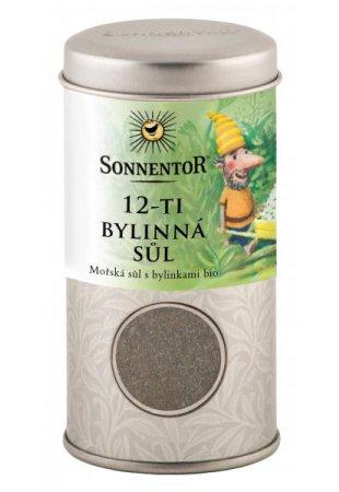 12-bylinná soľ, 75g dóza malá