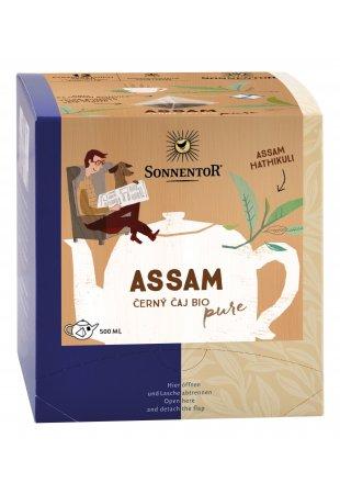 Assam, čierny pyramídový čaj BIO 36 g