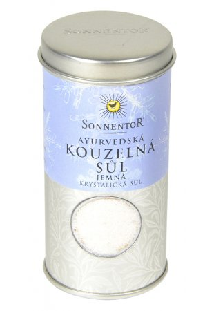 Ayurvédska čarovná soľ jemná, 120 g, dózička