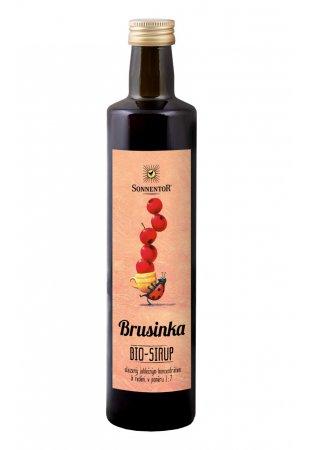 Brusnica - ovocný koncentrát, 500 ml