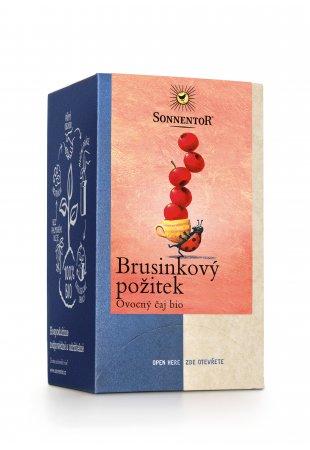Brusnicový pôžitok, ovocný porciovaný čaj 54 g