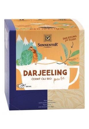 Darjeeling, čierny pyramídový čaj BIO 30 g
