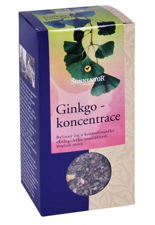Ginkgo - koncentrácia, sypaný čaj 50 g