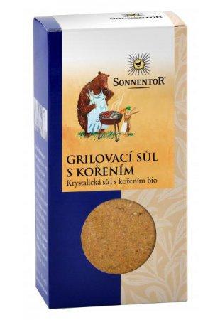 Grilovacia soľ s korením, 100 g