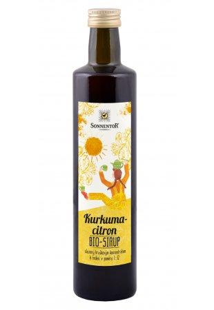 Kurkuma - citrón ovocný koncentrát, 500ml