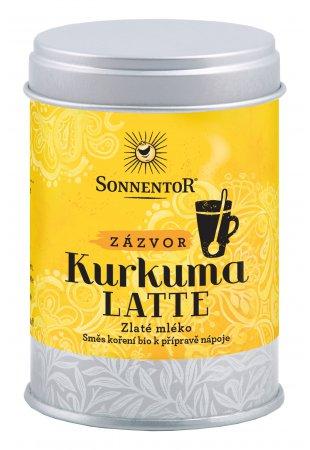 Kurkuma Latte - zázvor BIO, malá dóza 60 g
