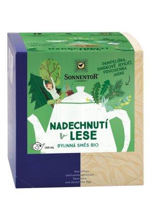 Nadýchnutie v lese, pyramídový čaj BIO 21,6 g
