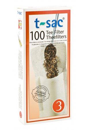 Papierový filter na sypaný čaj, veľkosť 3