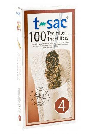 Papierový filter na sypaný čaj, veľkosť 4