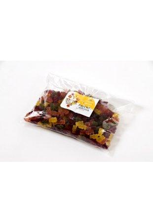 Raraškové ovocné gumové medvedíky, 1 kg
