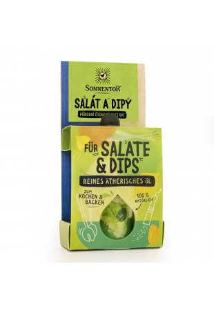 Šalát a dipy, kulinársky éterický olej 4,5 ml