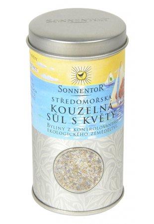 Stredomorská čarovná soľ s kvetmi 90 g, malá dóza