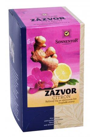 Zázvor - citrón, porciovaný čaj 30 g