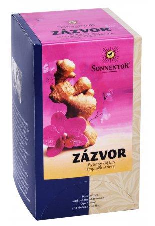 Zázvor, porciovaný čaj 20 g
