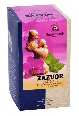 Zázvor - slnko, porciovaný čaj 20 g
