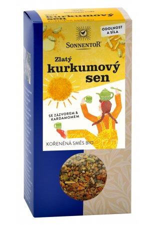 Zlatý kurkumový sen, sypaný čaj 120g